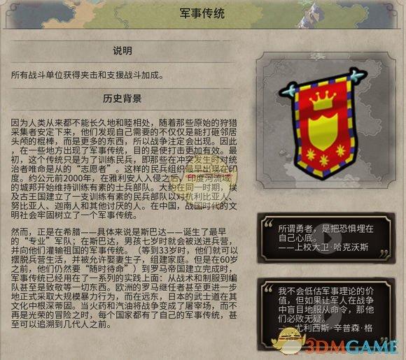《文明6》军事传统历史背景一览